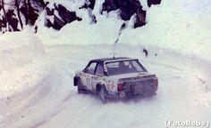 Salvador Servià - Jordi Sabater Rallye Automobile de Monte-Carlo 1978. Fiat 131 Abarth. Clasificado 12º