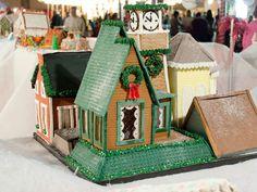 Unique Gingerbread Design House | Gingerbread House Ideas