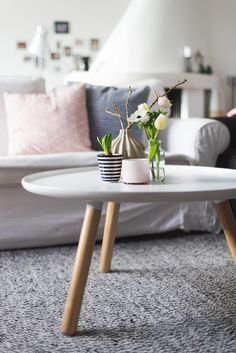 Tablo / normann copenhagen table with pastell decoration