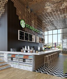 STARBUCKS INTERIOR - Google 検索 Despiece pisos