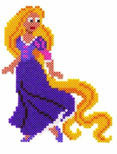 Rapunzel - Hama Disney Princess (Giant)