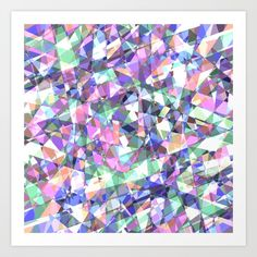 Buy Lazer Diamond Art Print by bitart. Worldwide shipping available at Society6.com. Just one of millions of high quality products available. #s6gtp