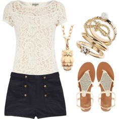 I want a pair of shorts and pants like these shorts .. sailor / nautical styling <3