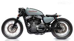 Deus Nightster 1200 V Twin cafe racer custom http://www.bikeexif.com/deus-1200-v-twin-cafe-racer