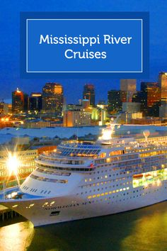 Find the best deal on Mississippi River Cruises Vacation Places, Cruise Vacation, Vacation Destinations, Vacation Trips, Dream Vacations, Vacation Spots, Places To Travel, Vacation Ideas, Cruise Tips