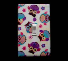 Switch Plate Cover Cute Owls / Nursery Decor by cathyscraftycovers, $10.00