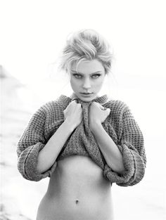 """Jessica Stam...I love that she's a stunning supermodel, yet this isn't an unattainable fitness goal.  She's """"normal!"""""""