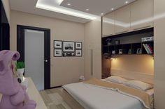 Уютный дизайн двухкомнатной квартиры 50 кв. м. в современном стиле