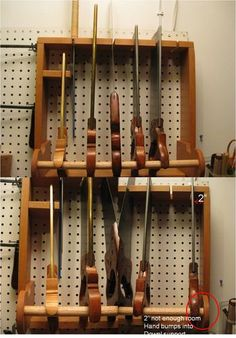 Pegboard Tool Storage Epiphany #2: Backsaw Till. - by Brad @ LumberJocks.com ~ woodworking community