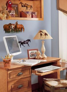 Wild Horses Wall Decal at AllPosters.com