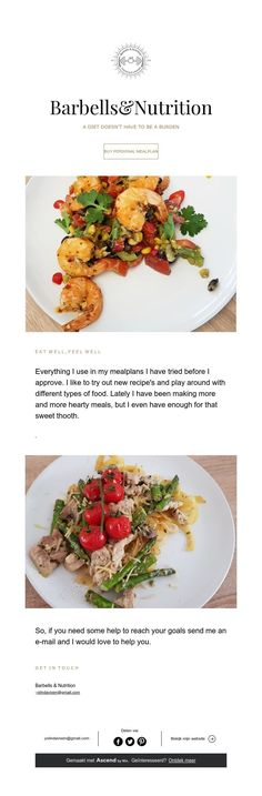 Barbells Types Of Food, Vixen, Diet And Nutrition, Barbell, I Love Food, New Recipes, Meal Planning, Meals, Sweet