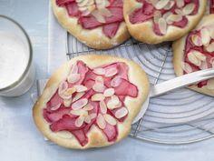 Rezept: Süße Rhabarberfladen