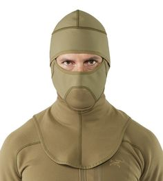 This Balaclava from Arc'teryx LEAF is optimized for use in very cold conditions with Polartec fleece and wind resistant materials. The ergonomic design and fla Tactical Shirt, Tactical Clothing, Tactical Gear, Cold Weather Gear, Cold Weather Outfits, Very Cold, Hats For Sale, Balaclava, Outdoor Outfit