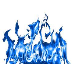 Blue Fire PNG Clipart