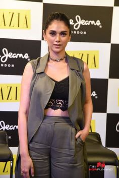Aditi Rao Hydari's Sizzling Summer Look at a Launch - FashionPro