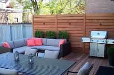 Privacy wall on deck, privacy screen outdoor, privacy fences, privacy lands Privacy Wall On Deck, Privacy Screen Outdoor, Privacy Walls, Backyard Privacy, Backyard Fences, Privacy Screens, Backyard Ideas, Privacy Fences, Fence Ideas