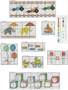 Tudo em ponto cruz, gráficos novos toda semana!!!!!!!: Com esses gráficos tudo fica mais divertido...