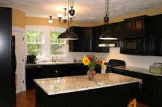 55+ Kitchen Cabinet and Countertop Ideas - Cheap Kitchen Cabinet Remodel Ideas Check more at http://www.apprenticecruisechallenge.com/kitchen-cabinet-and-countertop-ideas/