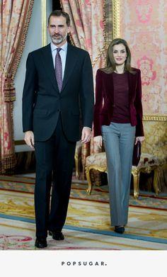 Queen Letizia Just Wore the Velvet Blazer Your Holiday Party Wardrobe Needs