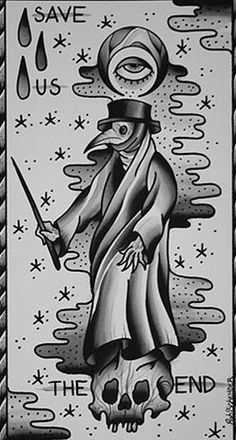 Plague Doctor -- tattoo idea