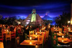 We have a reservation at Le Cellier for dinner, but somehow, I need to find a way to squeeze in San Angel Inn.