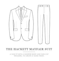 The Suit Guide: The Hackett Mayfair
