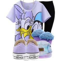 Cupcakes, Chucks, & Disney, created by nenedopesauce on Polyvore