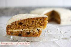 Receta de tarta de zanahoria o carrot cake, un pastel irresistible