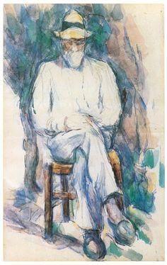 Étude pour Le Jardinier, 1906. Aquarelle.