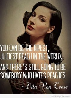 Dita Van Ceese quote with photo