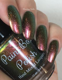 ehmkay nails: Paint Box Polish The 12 Collection, Swatches and Review. Paint Box Polish The Impossible Girl