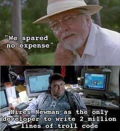 20 Jurassic Park Memes That Are Mostly About The Programmer Guy