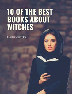10 of the best books about witches, as recommended by author Sarah Rees Brennan. #books #witches #pagan