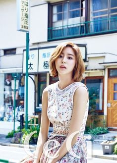 After School's UEE brightens up the streets of Tokyo for 'Ceci' | allkpop.com