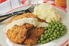 What's the best place for down-home Texas Chicken Fried Steak with Texas River Bottom Gravy? We found traditional recipes for both when we visited Hickory Hollow restaurant in Houston, Texas, and now you can make it at home.