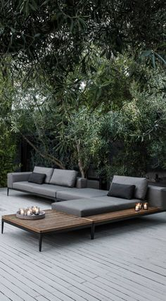Gloster Grid Modular Lounge Patio Furniture Outdoor Sets
