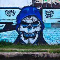 https://flic.kr/p/fyeVy1 | Sourire bleu | Blue smile