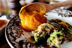 It may look like little more than just mushed up butternut squash (probably because that's what it is) but this is absolutely, without question, one of my favorite side dishes on my Thanksgiving pl… Thanksgiving Recipes, Fall Recipes, New Recipes, Holiday Recipes, Cooking Recipes, Favorite Recipes, Thanksgiving 2016, Dairy Recipes, Thanksgiving Sides