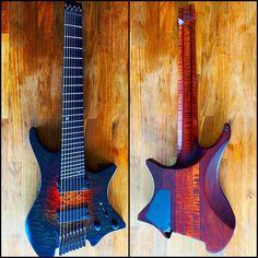 "Strandberg Guitars on Instagram: "".mesmerizing* 😍 Boden Made to Measure #91 photo by @jeffdmusic . . . #strandbergguitars #strandberg #headlessguitar #boden #madetomeasure…"" Music Guitar, Guitars, Photo And Video, Instagram, Floor, Guitar, Vintage Guitars"