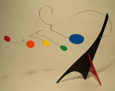 Peacenik Stabile Mobile Kinetic Art Sculpture Small Sculpture Calder Styled Modern Art