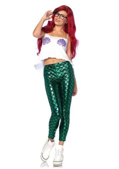 Channel your inner Ariel with one of these mermaid Halloween costumes.
