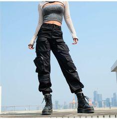 Cargo Pants Outfit, Cargo Pants Women, Camo Pants, Pants For Women, Baggy Cargo Pants, Military Pants Women, Jogger Pants Style, Tactical Cargo Pants, Military Green