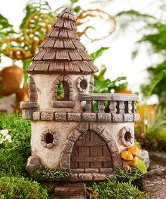 Take a look at this Solar Lighted Castle Figurine today!