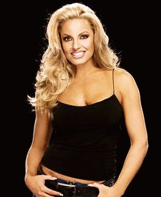 ★ WWE Diva - Trish Stratus ★ Women's Champion ★ Diva of the Decade ★ Babe of the Year ★ Stratus 2000, Trish Stratus, Wrestling Superstars, Wrestling Divas, Women's Wrestling, Nxt Divas, Total Divas, Wwe Trish, Gorgeous Ladies Of Wrestling