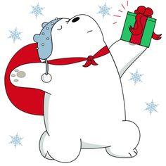Набор стикеров для Telegram «Белый медведь» We Bare Bears, Cartoon Characters, Fictional Characters, Cartoon Wallpaper, Cute Drawings, Snoopy, Illustration, Trading Cards, Drawings