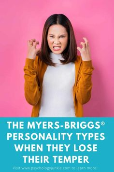 Get a glimpse at what each of the Myers-Briggs® personality types are like when they lose their temper. #MBTI #Personality #INFJ #INFP #INTP #ENFP #ENTP #ISFJ #ISTJ #ISFP #ISTP #ESFJ #ESTJ #ESFP #ESTP #INTJ The 16 Personality Types, Mbti Personality, Myers Briggs Infj, Infp Quotes, Lack Of Empathy, Feeling Trapped, Enneagram Types, Myers Briggs Personalities, Dibujo