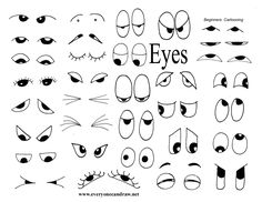 Day 3 - All About Eyes           This is day 3 of the Cha-Cha and so far we have worked on head shapes and sketched some 2-4 year old cha...