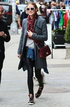 Olivia Palermo Photos - Olivia Palermo Out Walking Her Dog in NYC - Zimbio
