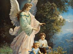 Guardian Angel - thank you for looking after me every day and every night. Angel of God, my guardian dear, to whom God's love commits m. Guardian Angel Pictures, Angel Images, Guardian Angels, I Believe In Angels, Ange Demon, Cross Stitch Pictures, Angels Among Us, Angels In Heaven, Heavenly Angels
