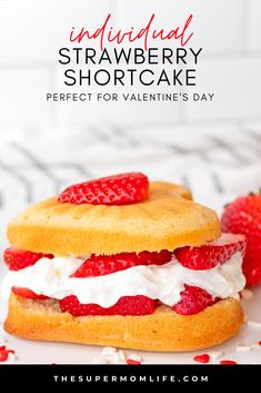 Looking for the perfect dessert for your Valentine? These individual, heart shaped strawberry shortcakes are perfect! Happy Valentine Day HAPPY VALENTINE DAY | IN.PINTEREST.COM WALLPAPER EDUCRATSWEB